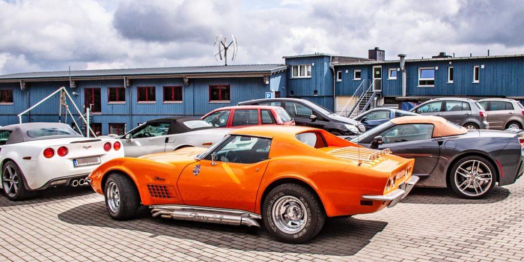 Corvette-Treffen auf der Wasserkuppe