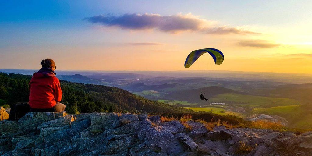Gleitschirmfliegen mit Papillon Paragliding